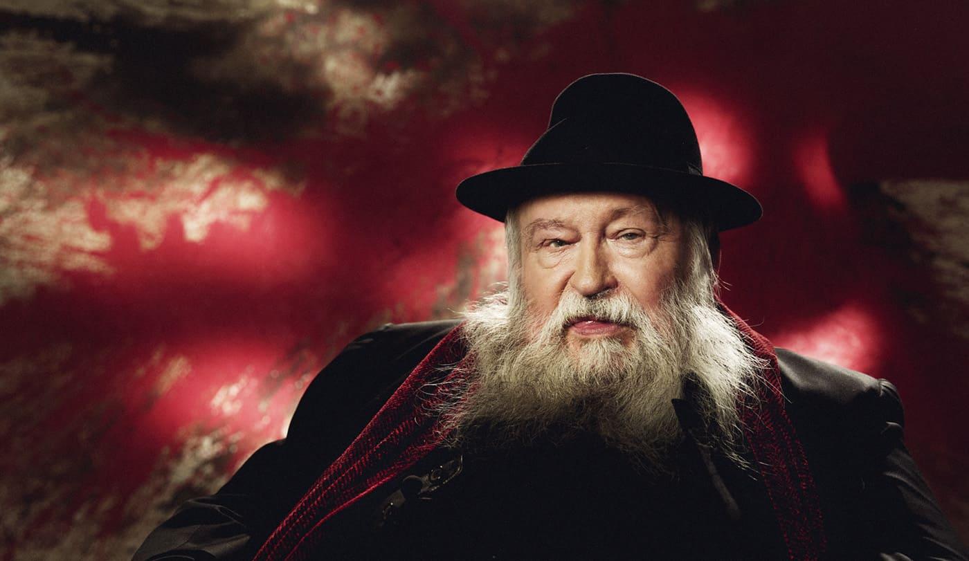 Portrait von Künstler Hermann Nitsch