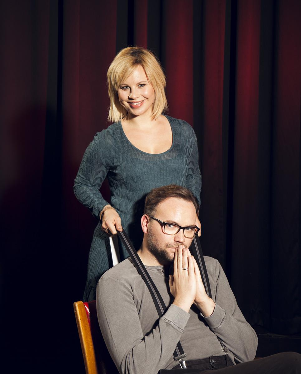 Kabarettist Thomas Stipsits und Schauspielerin Katharina Straßer